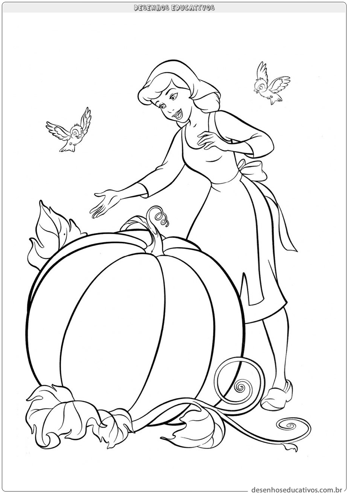 Cinderela e sua abóbora