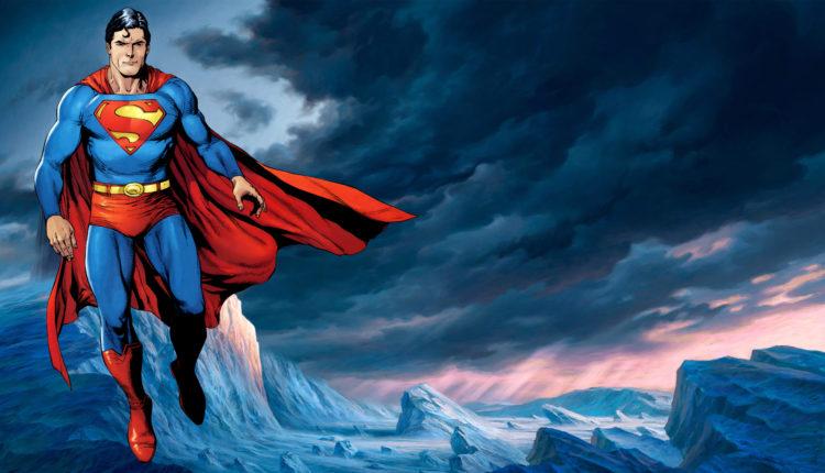 Desenho do Superman capa