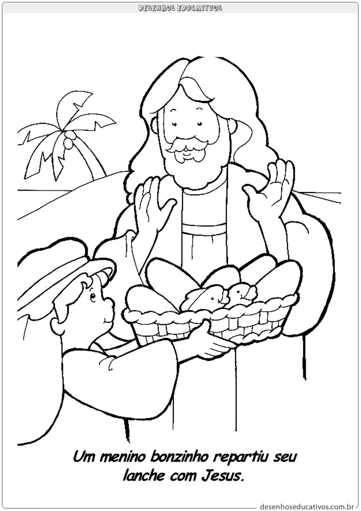 Desenhos Biblicos Para Colorir Desenhos Educativos