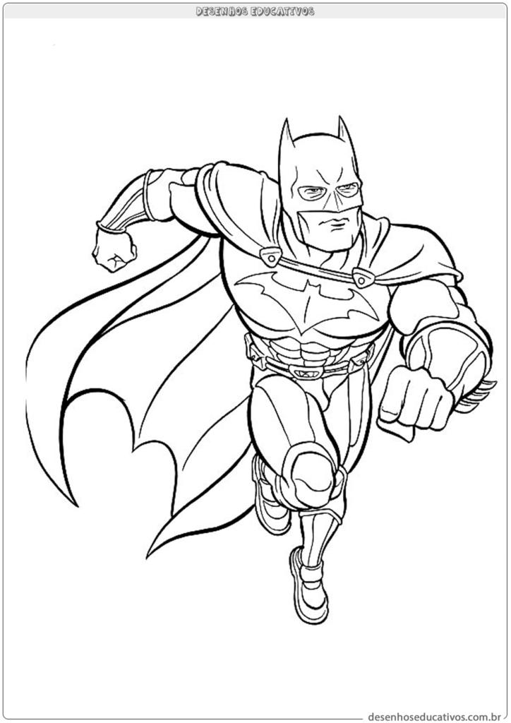 Desenhos para colorir Batman