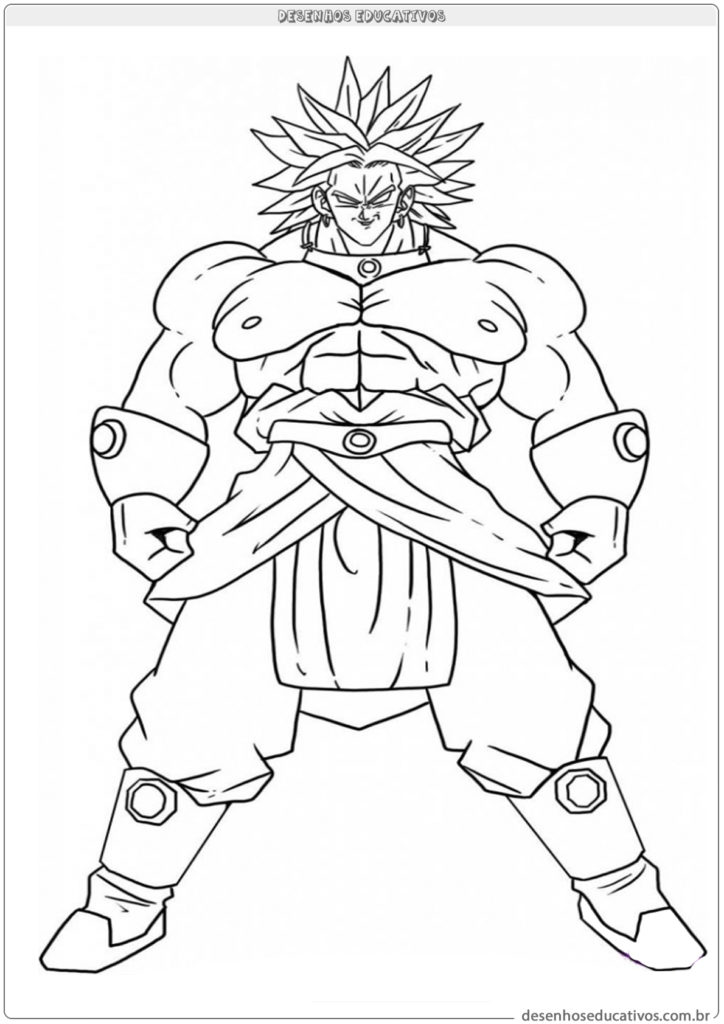 30 Desenhos Para Colorir Do Dragon Ball Imprimir E Colorir