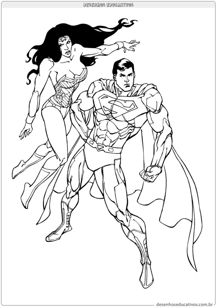 Superman e Mulher Maravilha