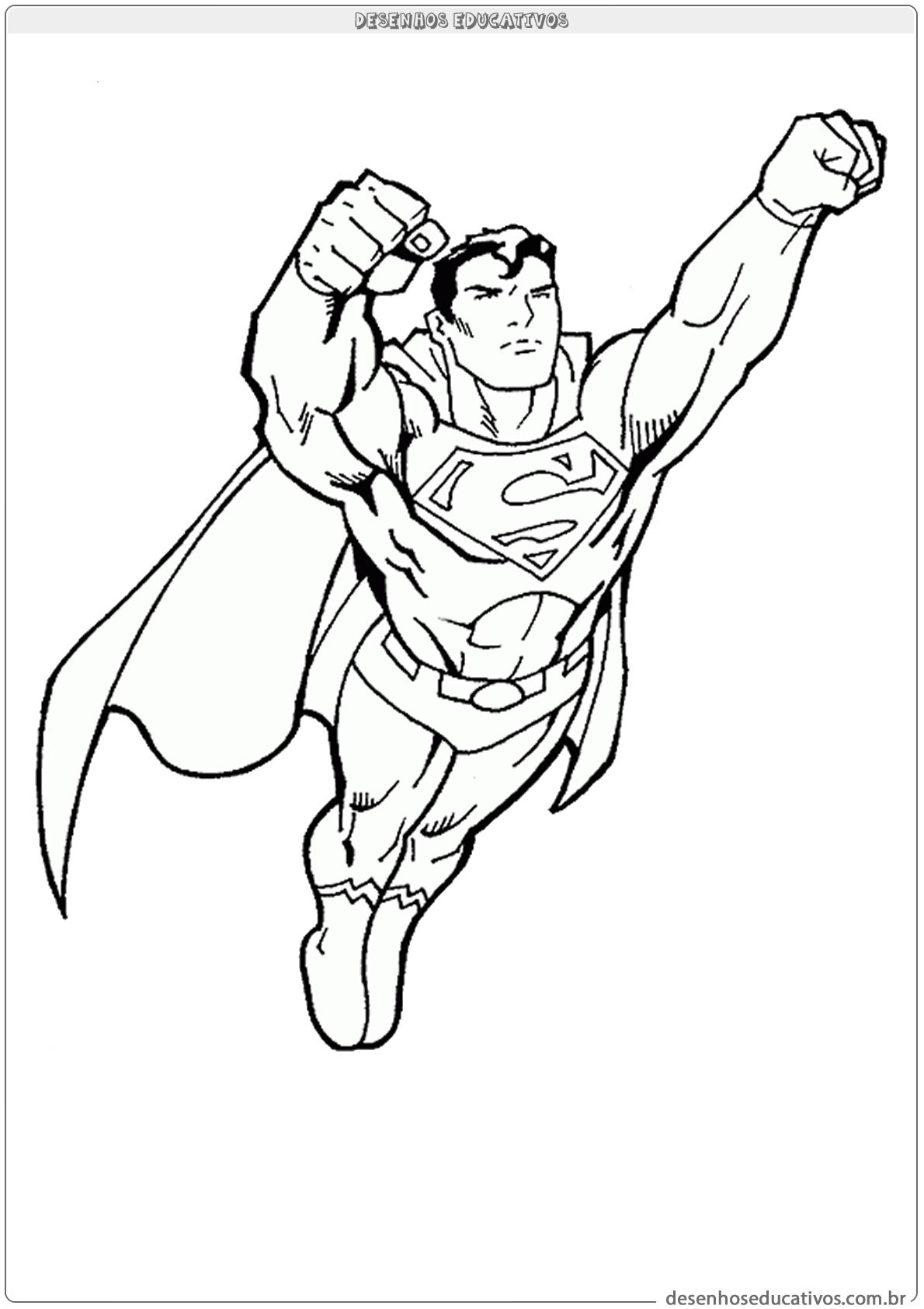 Superman voando