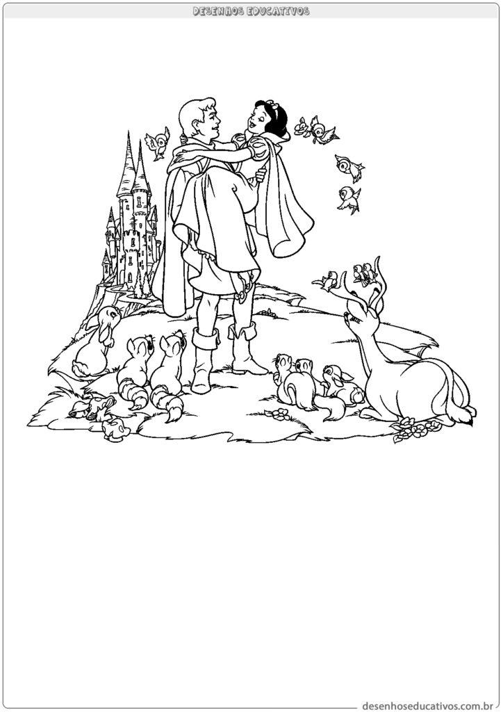 Branca de Neve e o príncipe