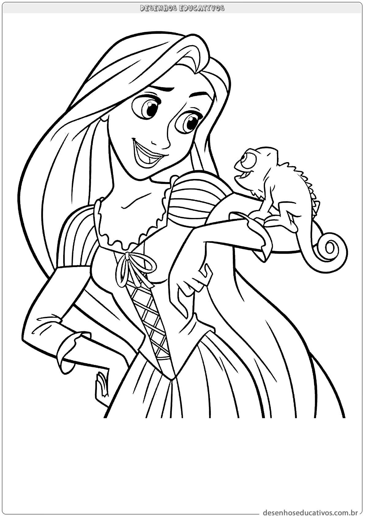 Desenhos da Rapunzel